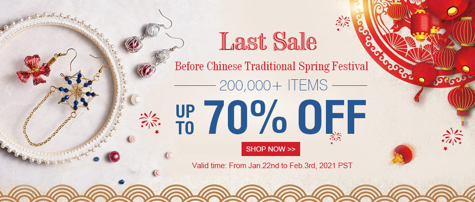 Last Sale Before Chinese Traditional Spring Festival
