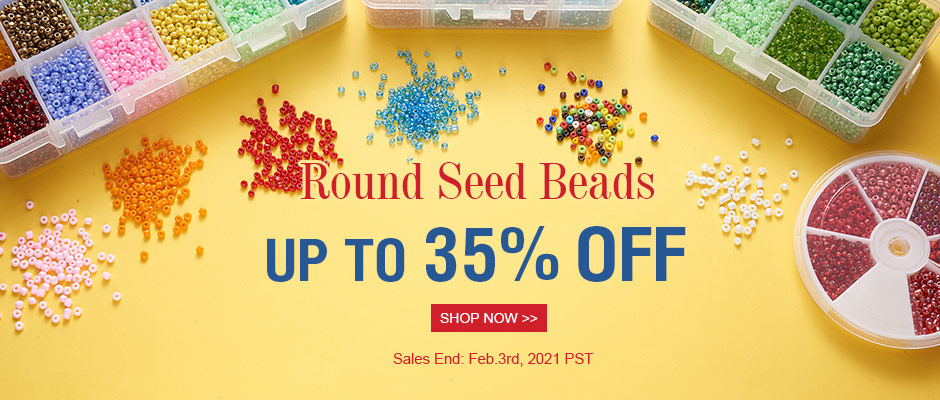 Round Seed Beads UP TO 35% OFF