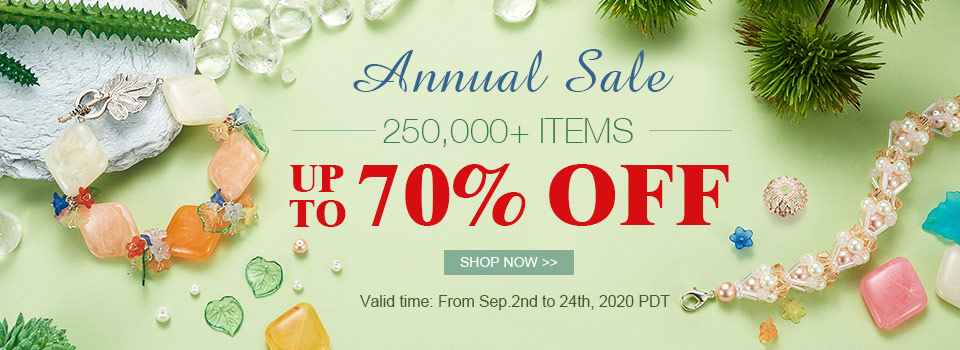 Annual Sale 250,000+ Items Up To 70% OFF